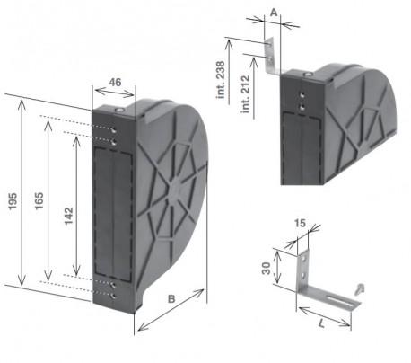 Cassetta Zenith 2 interassi, chiusa da m . 11 di cintino