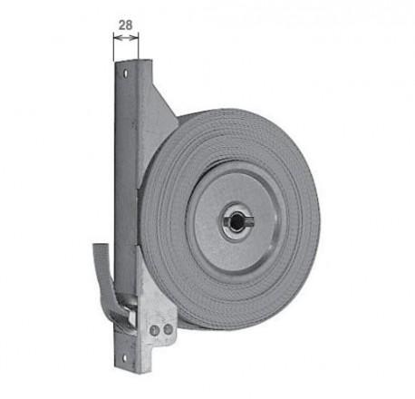 Avvolgitore a semincasso SP-8 per riduttore con 10 metri di cintino