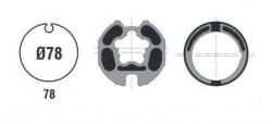 Adattatore per rullo da 78 con ogiva per motori ASA DA VINCI 60 ST/MO