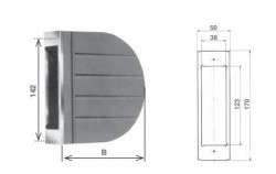 Cassetta per avvolgitore Zenith da 4 metri di cintino