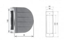 Cassetta per avvolgitore Zenith da 6 metri di cintino