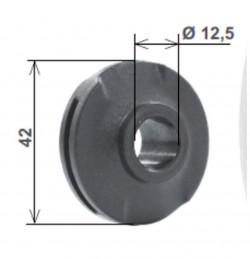 Boccola in nylon, per innesto 30 mm, simmetrica e asimmetrica