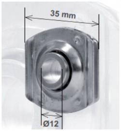 Cuscinetto a sfere con innesto da 35 mm