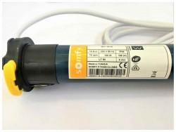 Motore per tapparelle Somfy LT50Hipro WT 10/12, etichetta con dati tecnici