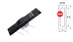Kit Avvolgitore SE-165 da 5,5 metri di cintino, zincato