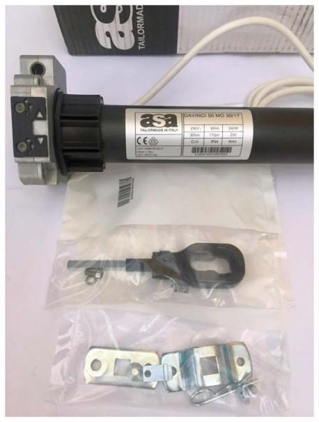 Motore tende da sole ASA DA VINCI MO 30/17 completo di accessori
