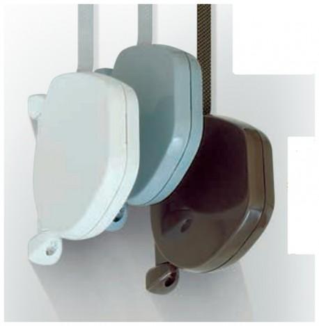 Avvolgitore esterno SHELL colori disponibili: bianco, grigio e marrone