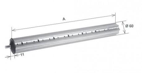Prolunga con calotta da 500 mm