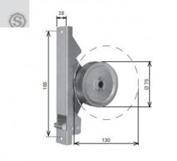 Avvolgitore a semincasso tipo SP, per riduttore, da 8 metri di cintino